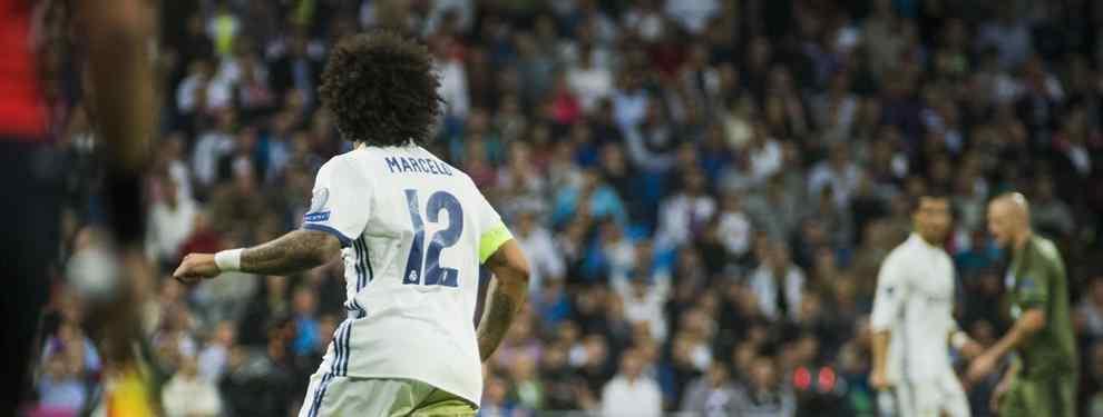 ¡El relevo de Marcelo será un jugador que el Madrid descartó hace seis años!