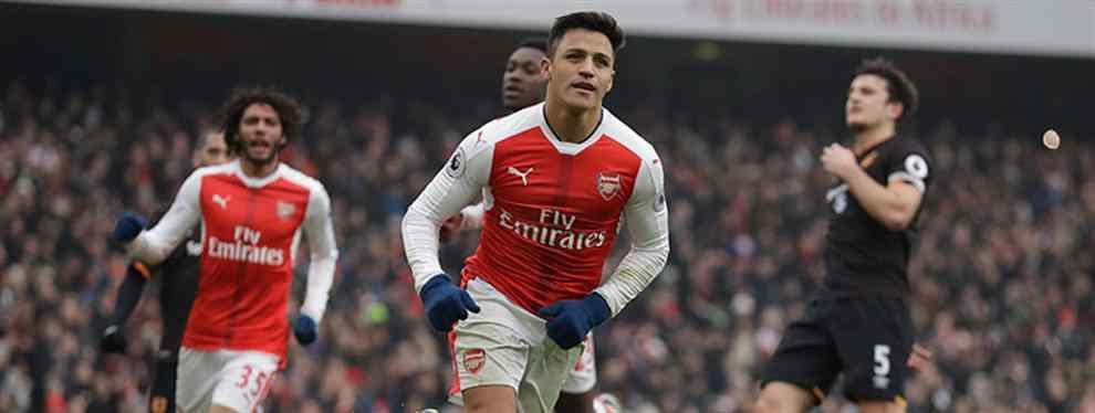 Bombazo:El chivatazo interno en el Arsenal sobre Alexis que le acerca a España