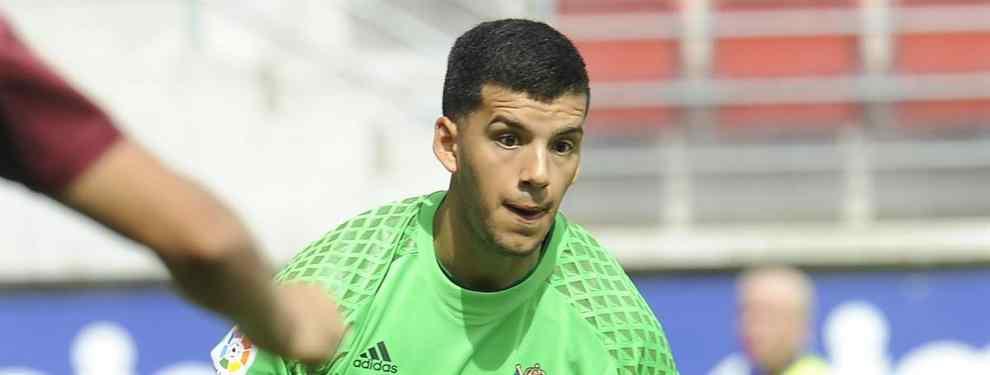 La nueva 'novia' española de Rulli que lo aleja del Manchester City