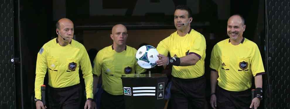 Los árbitros de la MLS apoyan la huelga de los árbitros de México