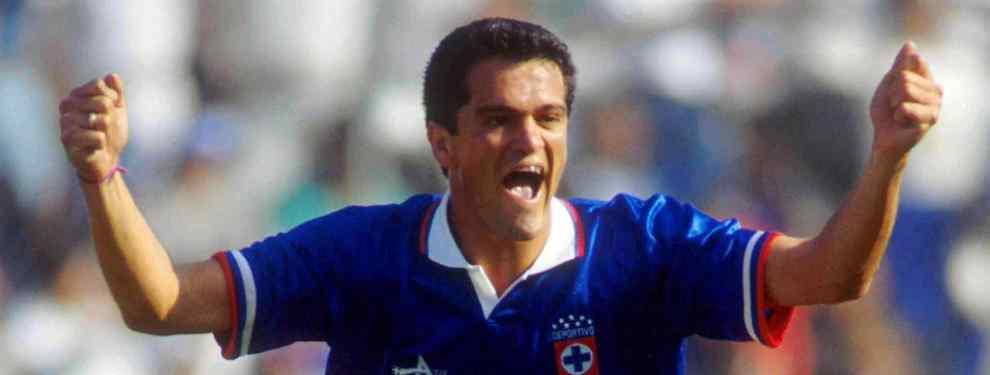 Carlos Hermosillo el último referente de Cruz Azul