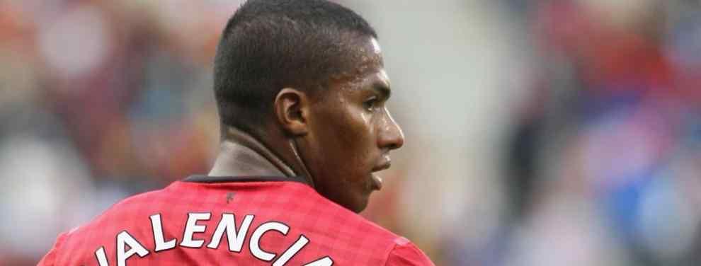 Antonio Valencia un LEGIONARIO que sólo jugó dos años en su país.