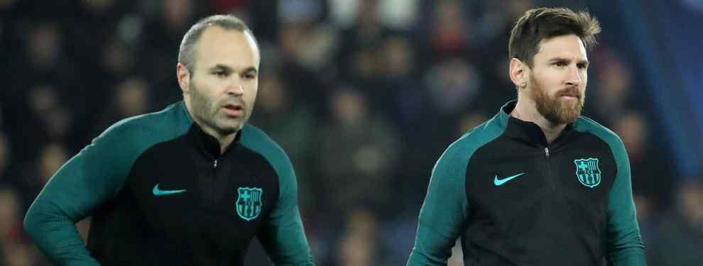 ¡Ojo! Se destapa la conversación entre Messi e Iniesta