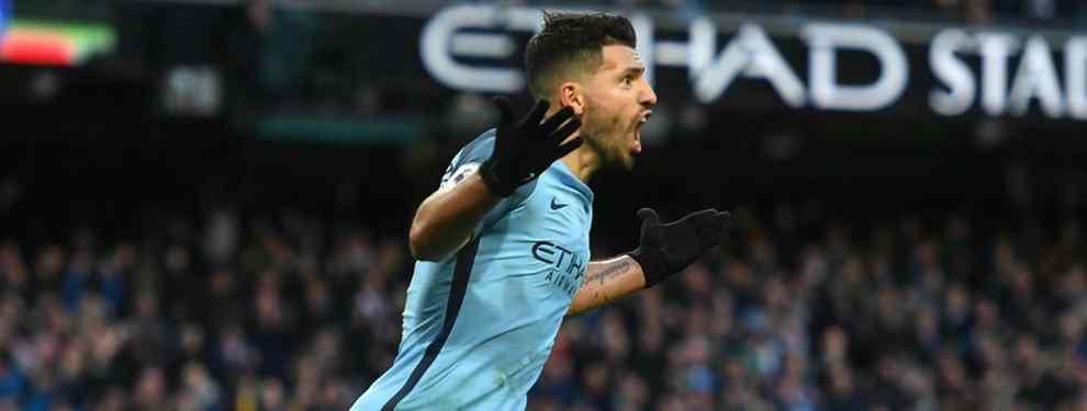 El movimiento clave del Manchester City para que el Kun Agüero juegue en el Real Madrid