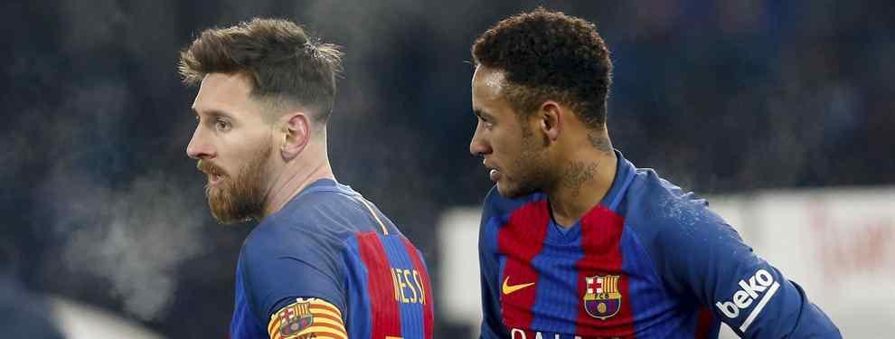 El poder del brasileño sube como la espuma en el Camp Nou