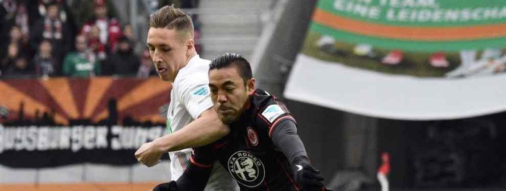 Marco Fabián de la Mora vuelve con el Frankfurt