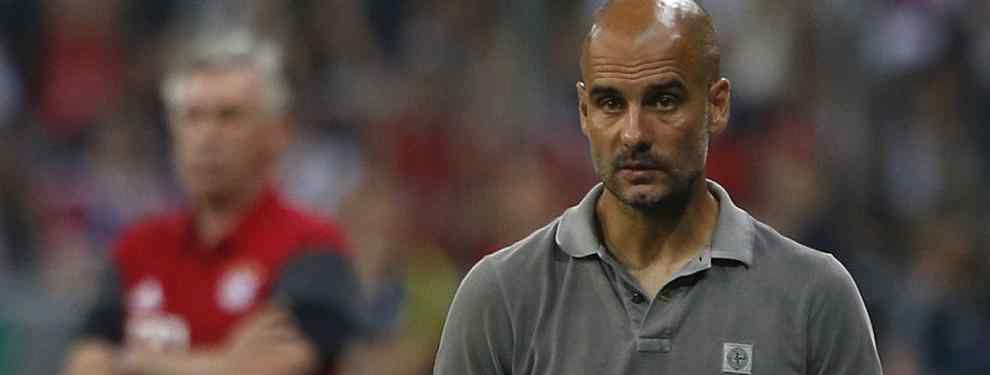 El técnico del Manchester City se encuentra en uno de sus peores momentos como entrenador