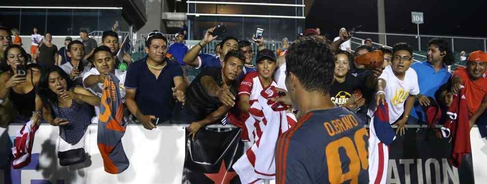 Omar Bravo compartirá equipo con Drogba