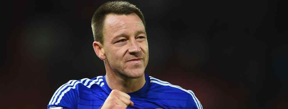 John Terry saldrá del Chelsea en verano