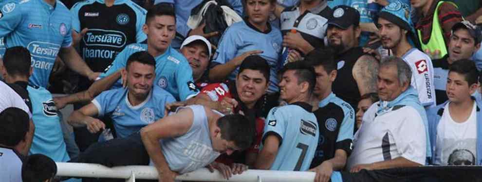 Belgrano expulsó a los agresores de Emanuel Balbo de por vida