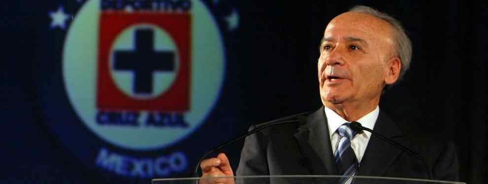 """""""No he pensado en dejar la presidencia del Cruz Azul"""": 'Billy' Álvarez"""