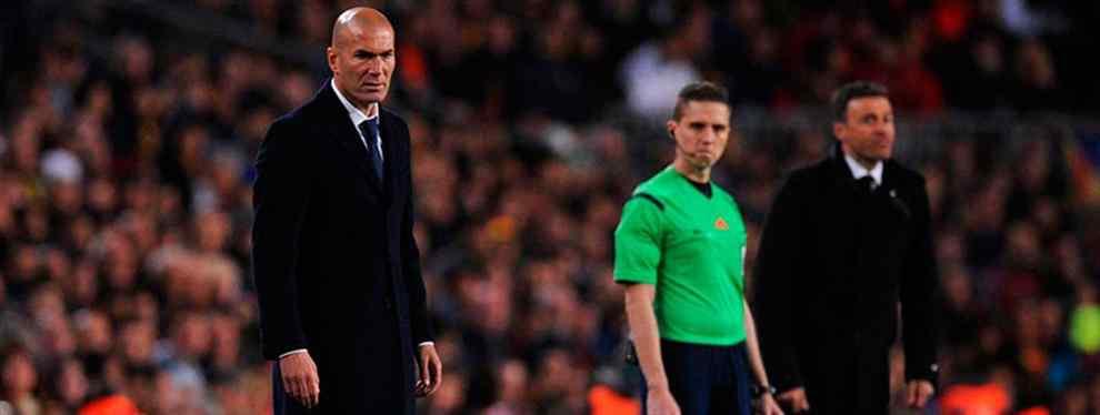 La bronca entre Luis Enrique y Zidane: Los 'muertos' en el armario del Clásico