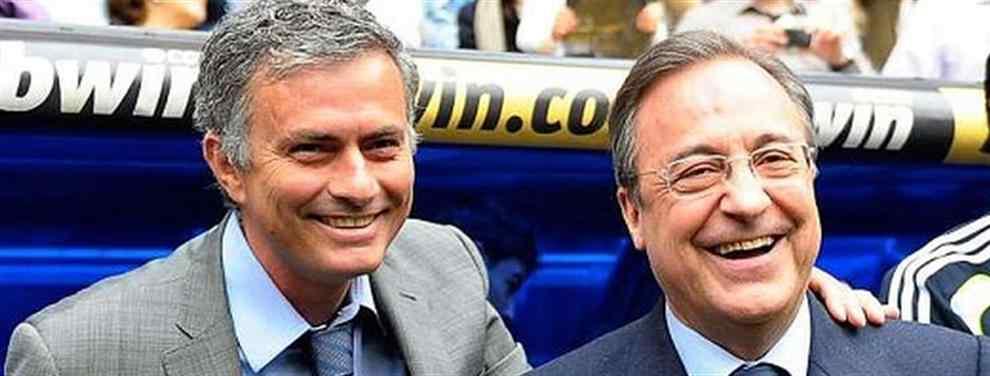 El entrenador portugués del Manchester United recurre a la vieja amistad con el dirigente blanco para una operación que puede beneficiar a ambos clubs