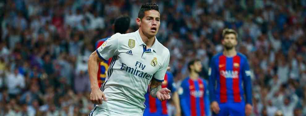 El crack colombiano del Real Madrid sabe muy bien que su cambio de aires será casi inevitable