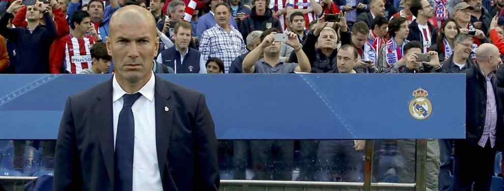 El jugador que traiciona a Zinedine Zidane ofreciéndose a fichar por el Barça