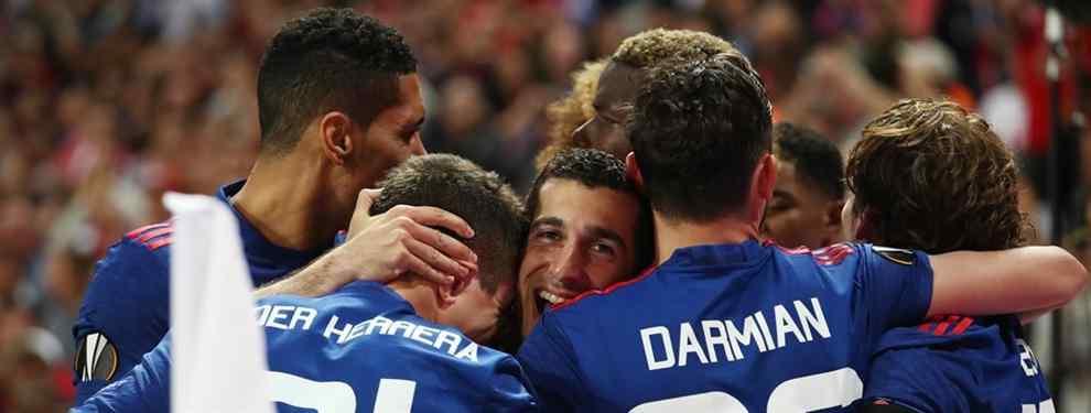 El conjunto inglés, con el argentino Romero bajo los palos, se impone al correoso Ajax de Davinson Sánchez con un afortunado gol de Pogba y un tanto de Mkhitaryan
