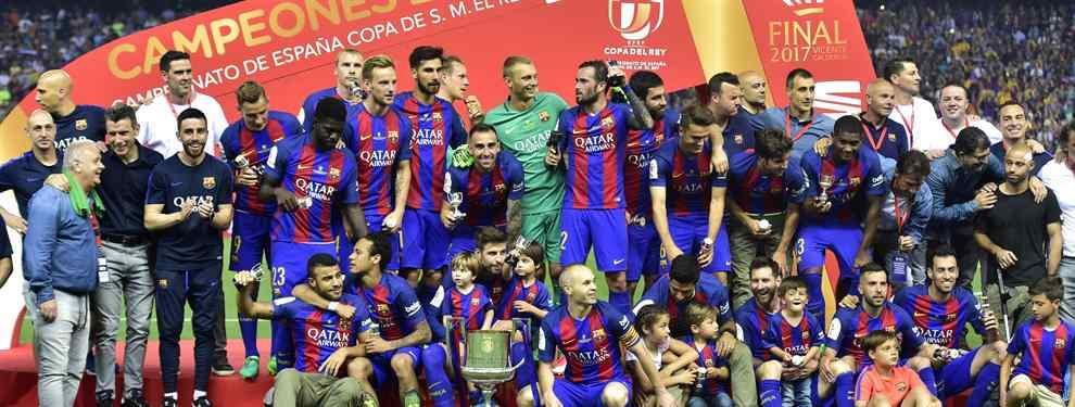 El Barcelona y Messi, Reyes de España