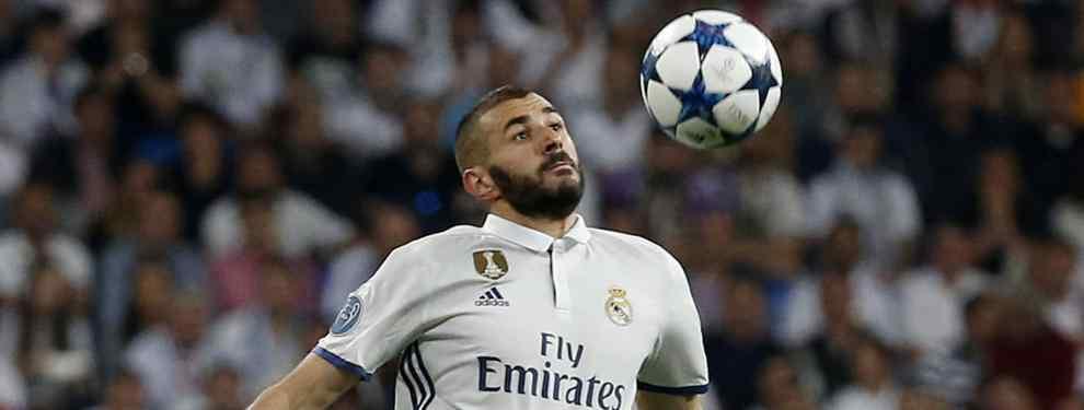 El delantero francés tiene cada vez menos opciones de seguir ligado a la entidad madridista la temporada que viene