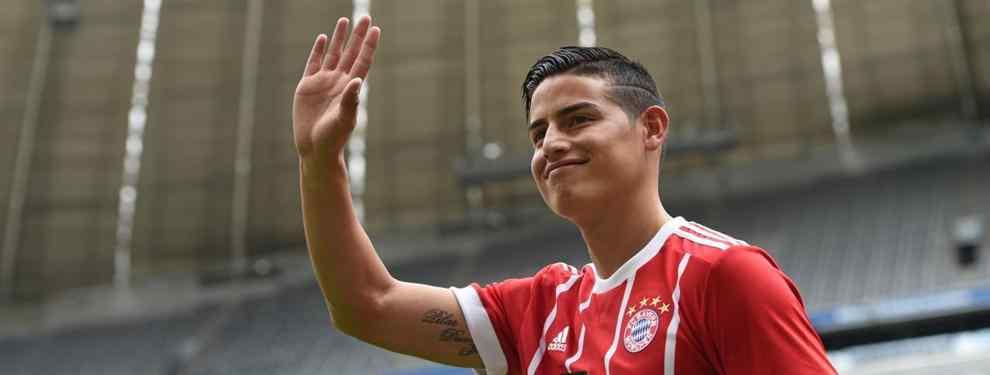 El primer 'enemigo' de James Rodríguez en el Bayern de Múnich de Ancelotti