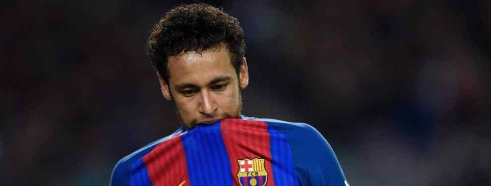 Florentino Pérez la lía con un bombazo de Neymar que deja al Barça tocado de muerte