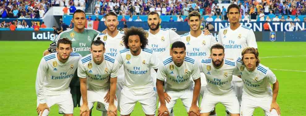 El Clásico de Miami deja prácticamente sentenciado a un peso pesado del Madrid