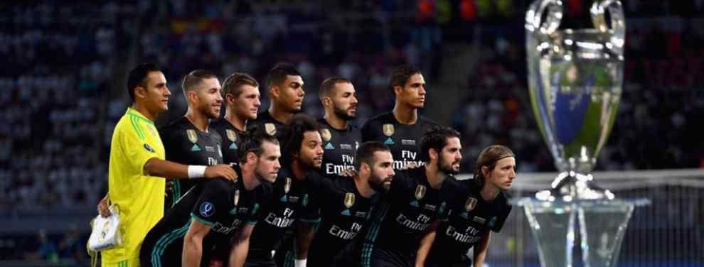 El técnico francés se ha visto obligado a tomar las primeras decisiones de la temporada.