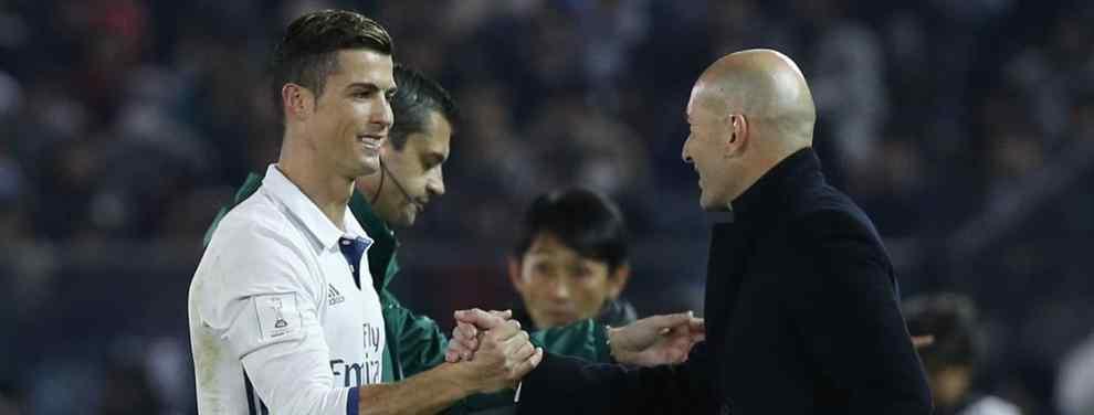 El futbolista que presiona para estar en el Bernabéu.