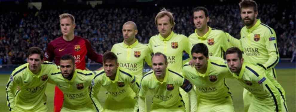 Desvelan cómo será la tercera equipación del Barça para la campaña 2015-16 994846cdd9f