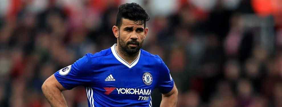 Diego Costa va en serio: las ofertas que tiene sobre la mesa para amenazar al Atlético