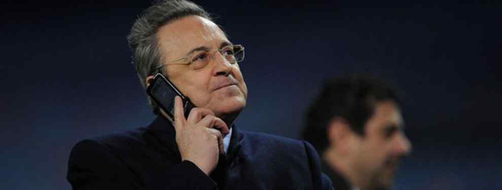 La reunión secreta de Florentino Pérez con el agente de un delantero TOP de la Premier League