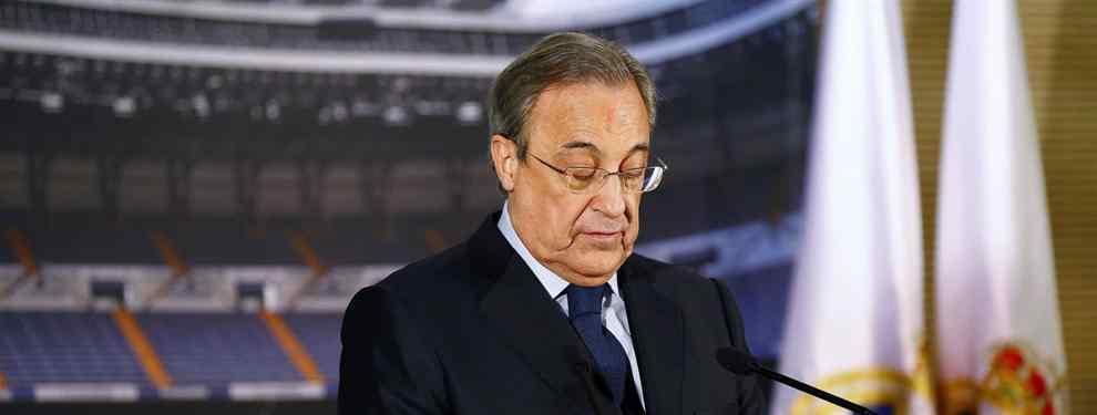 El presidente del Real Madrid está atento al as en la manga azulgrana