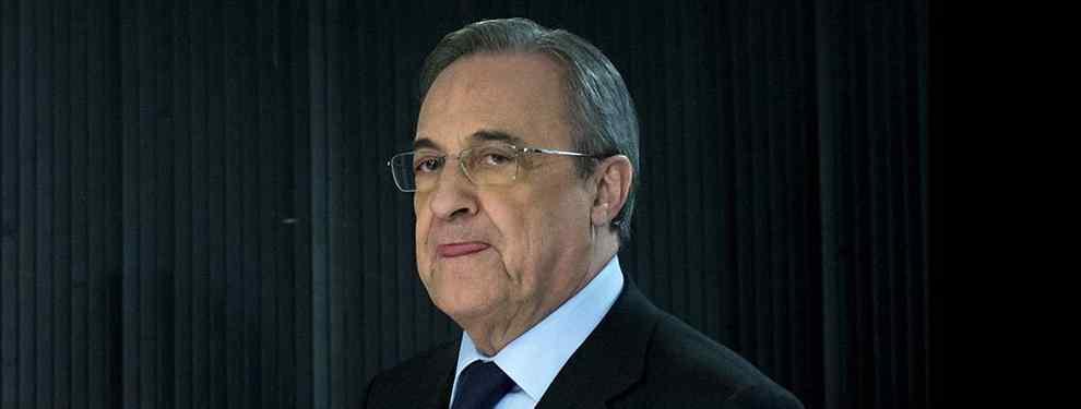Florentino Pérez le pone la cruz a un crack del Real Madrid y ya le busca equipo