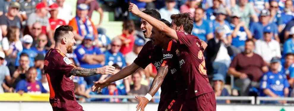 Messi elige (con sorpresa) al sustituto de Dembélé tras la lesión del francés