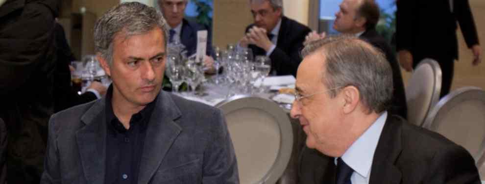 Florentino Pérez sabe muy bien que Mourinho, ex técnico del Real Madrid, quiere llevarse a uno de los cracks del Barça