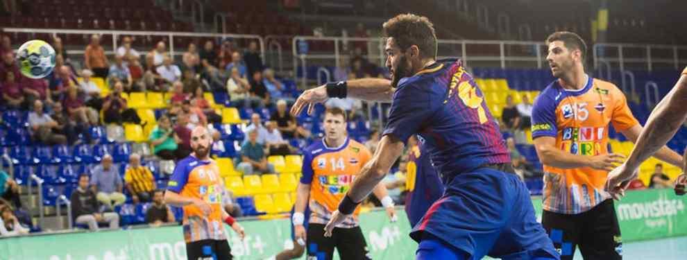 el barcelona vence sin problemas