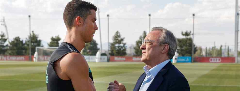 El jugador que Cristiano Ronaldo le propone a Florentino para hacerle la cama a un crack del Madrid