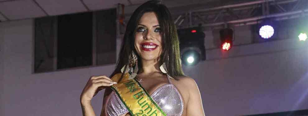 ¡El 'trasero' de Miss BumBum celebra el éxito de Messi rumbo al Mundial 2018!