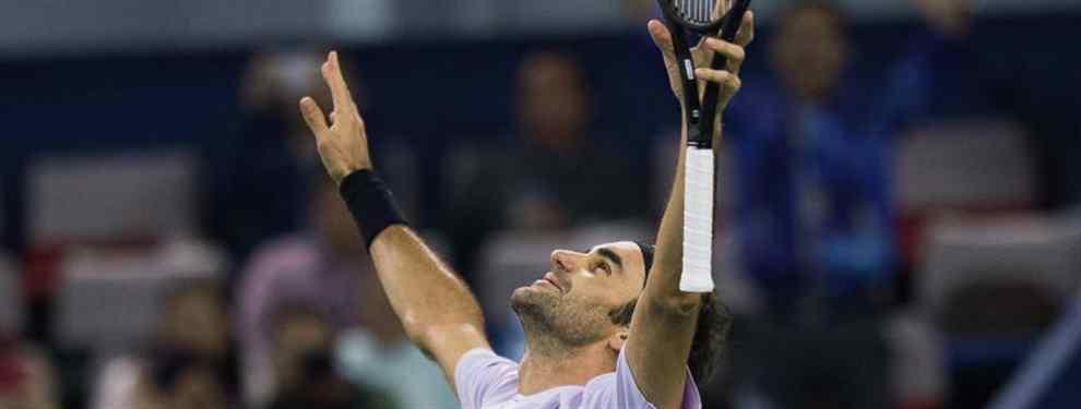 Federer gana a nadal