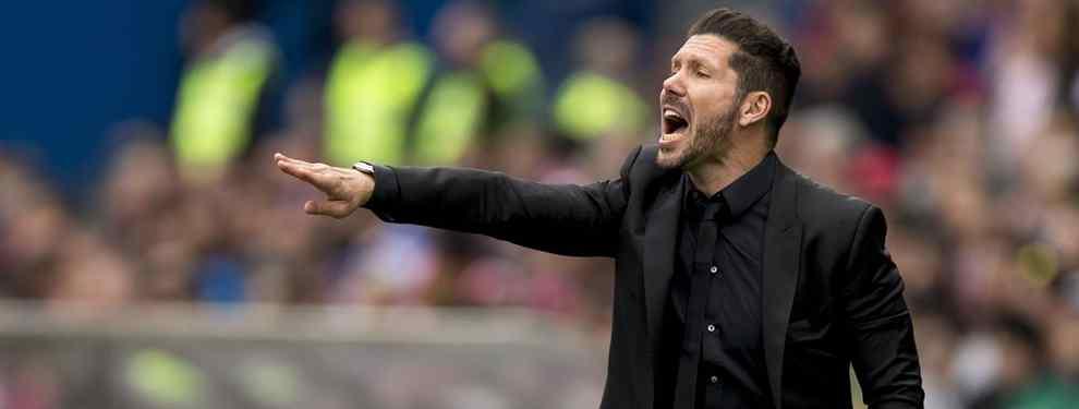 El Cholo Simeone se carga un fichaje estrella para el Atlético: no lo quiere ni en pintura