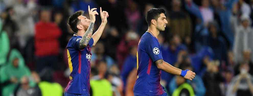 Luis Suárez le suelta una confesión bestial a Messi después del Barça - Olympiacos