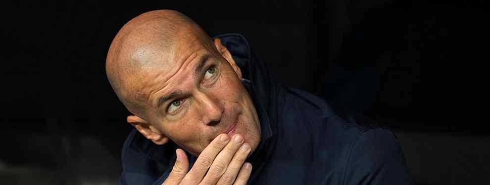 Zidane sentencia a un jugador del Madrid en Fuenlabrada (y coloca a otro en la puerta de salida)
