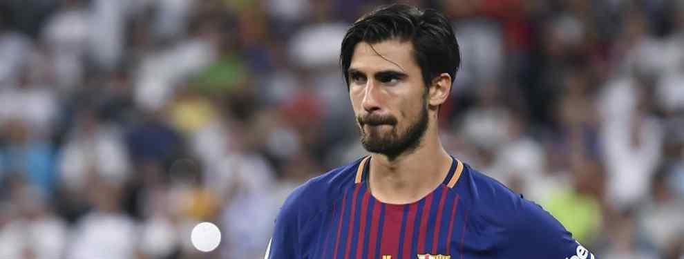 Al Barça le está costando Dios y ayuda encontrarle una salida a André Gomes