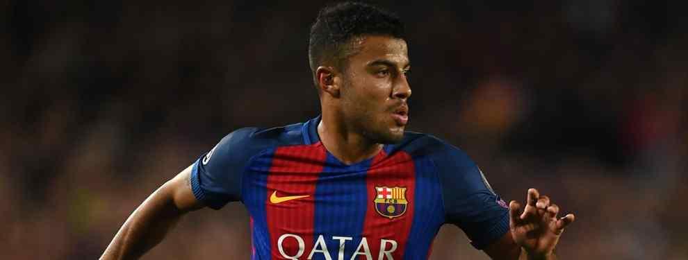 El tapado que quiere llevarse a Rafinha del Barça (y no es la Juventus)