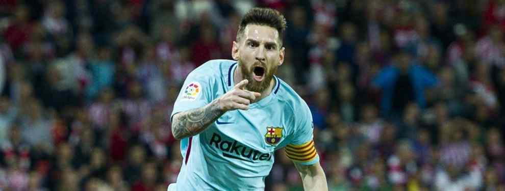 Messi pide a dos jugadores del Tottenham tras golear al Real Madrid