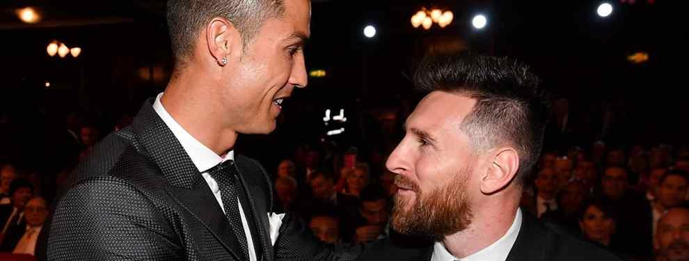 Messi no se lo cree: la última locura de Cristiano Ronaldo en el Real Madrid
