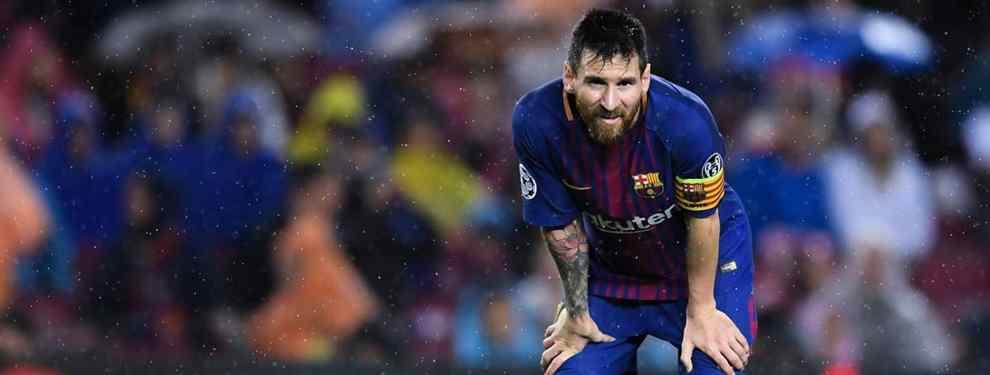 Messi quiere un fichaje de Florentino Pérez para el Barça