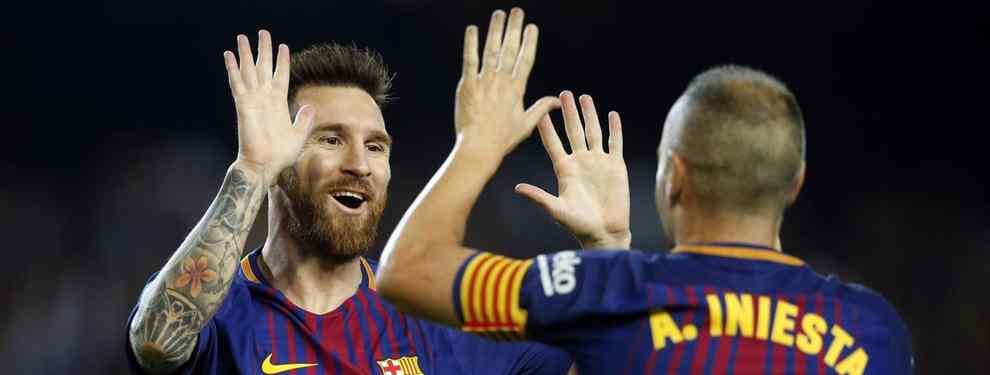Messi elige a los dos candidatos para reemplazar a Iniesta (y ninguno es Coutinho)
