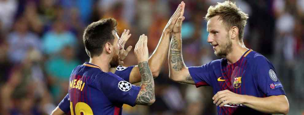 Messi apunta al sustituto de Rakitic en el Barça: dardo para el Real Madrid