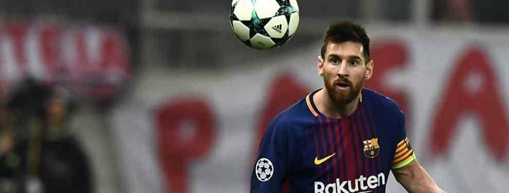 El plan de Messi para 'robarle' un fichaje al Real Madrid (Y llevárselo al Barça)