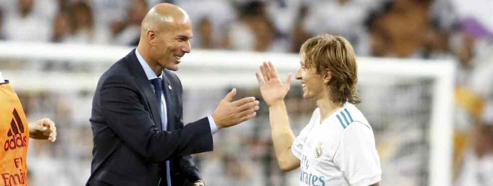 Las tres ofertas que ha recibido Modric para dejar el Real Madrid (Y la charla tensa con Zidane)